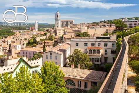 Vista desde la muralla de Girona