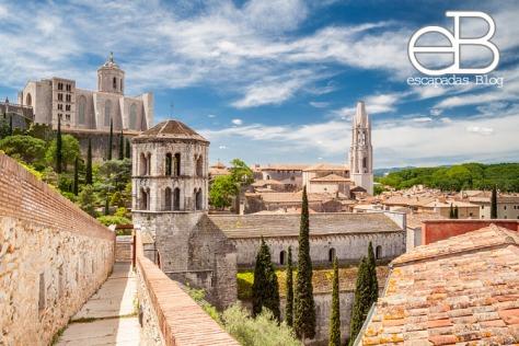 Otra vista general de Girona desde la muralla