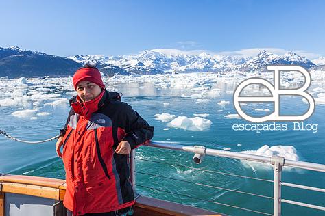 Nos encanta escuchar los glaciares....otra relajante actividad que te enseña lo grande que es la naturaleza