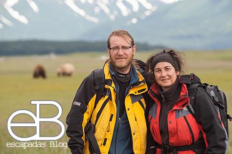 Fotografiando osos en Alaska